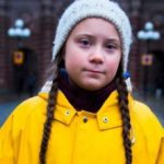 Greta Thunberg in autoisolamento